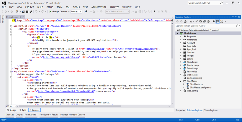 Everything You Need to Know about ASP NET Web Forms