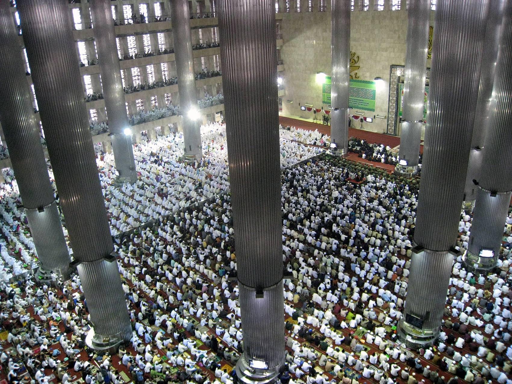 Istiqlal Mosque Eid ul Fitr Jamaah 1