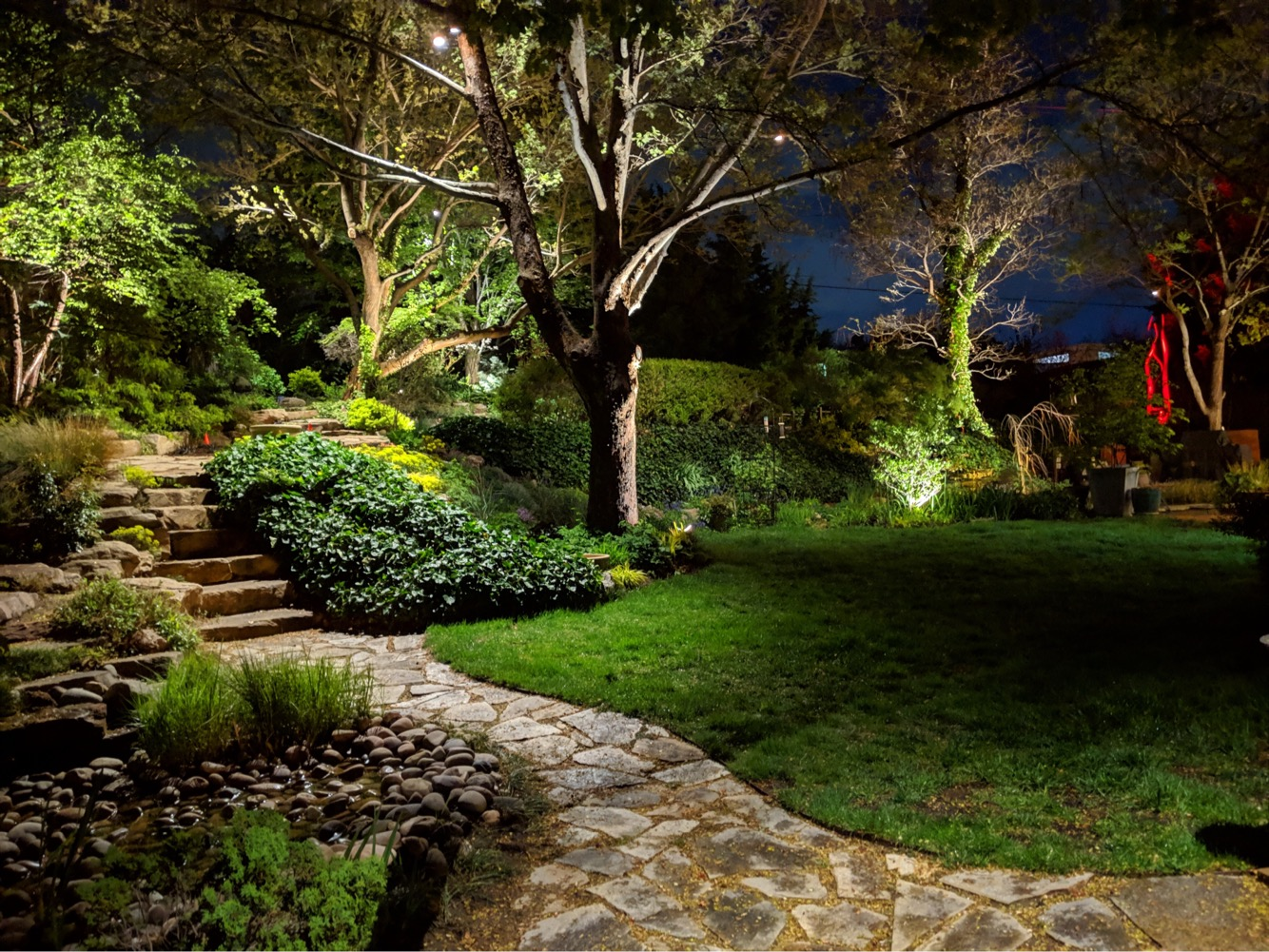 Tree Accent Lighting Ideas For Beautiful Landscape