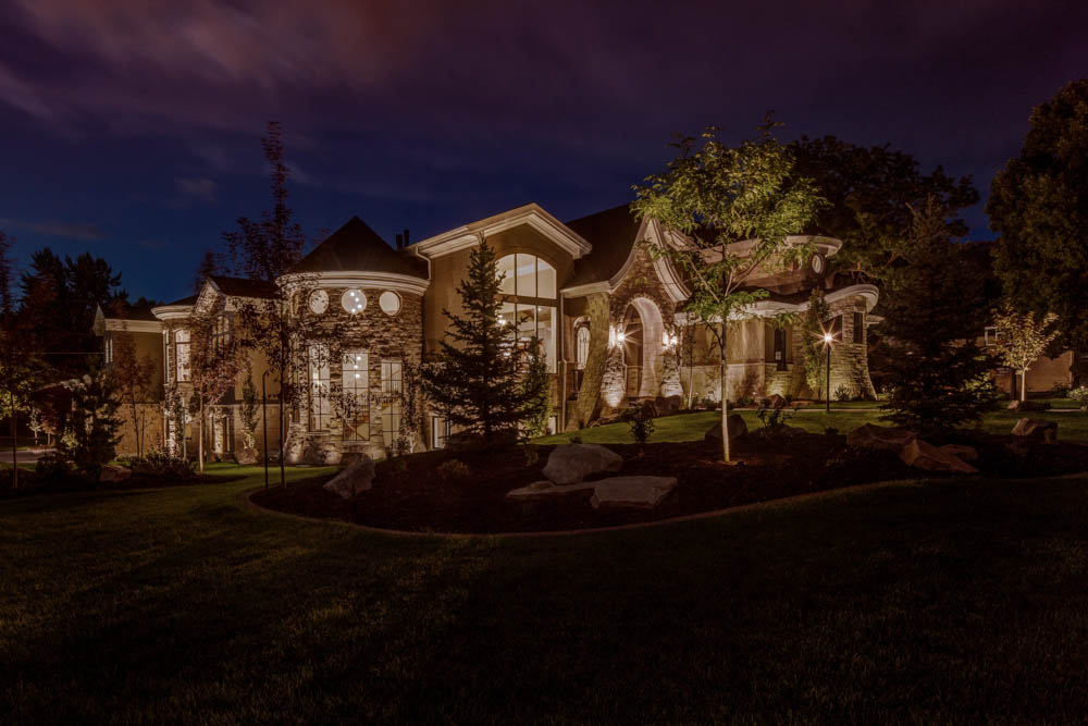 Architectural up lighting the alternative to exterior for Architectural landscape lighting