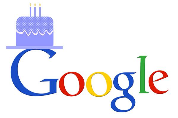 Google wird 20-1