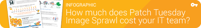 Infographic: How much does Patch Tuesday Image Sprawl cost your IT team?