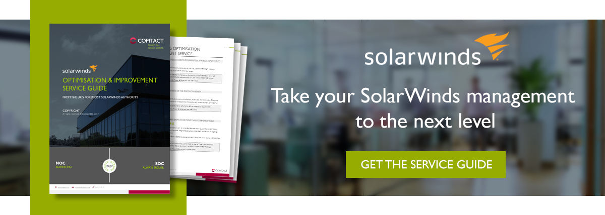 6 Big Reasons Why You Should Outsource Solarwinds Management