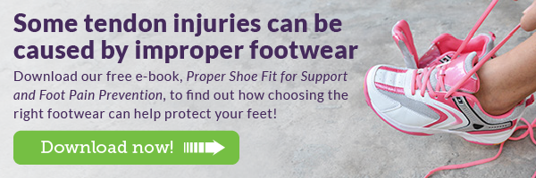 Download our free e-book to find out how choosing the right footwear can help protect your feet!