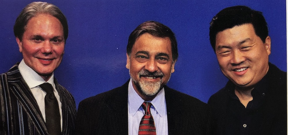 APA Executive Director, Dan Maddux; Academic, Author, and Entrepreneur, Vivek Wadhwa; and DailyPay CEO, Jason Lee