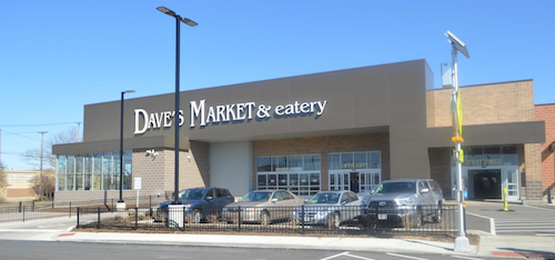 Dave's Market & Eatery serves the Cleveland and Akron area.