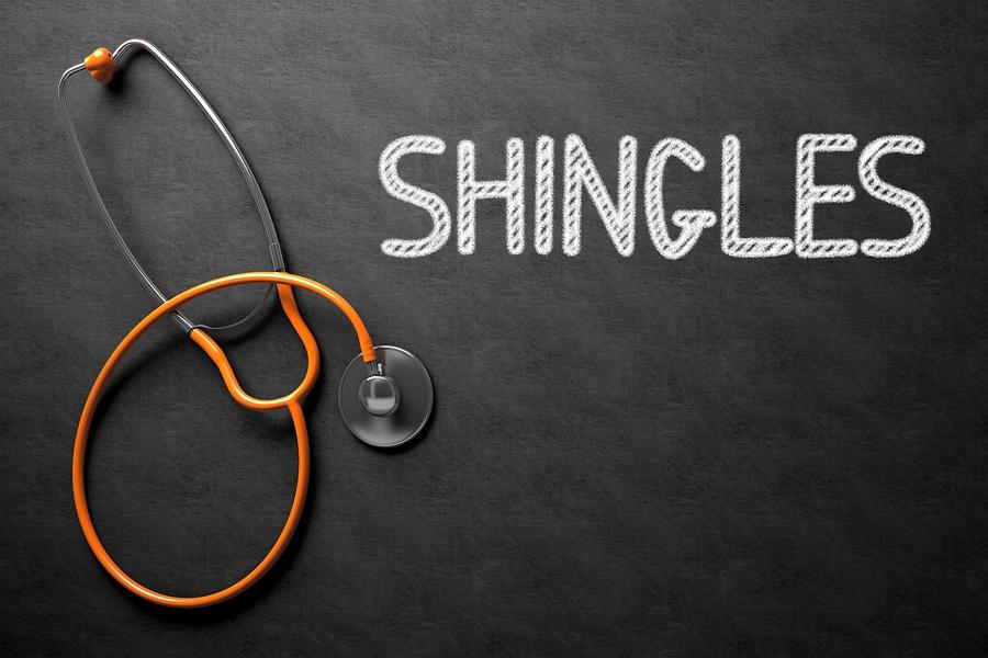 Shingles Related to Vasculitis - I.V. Ozone