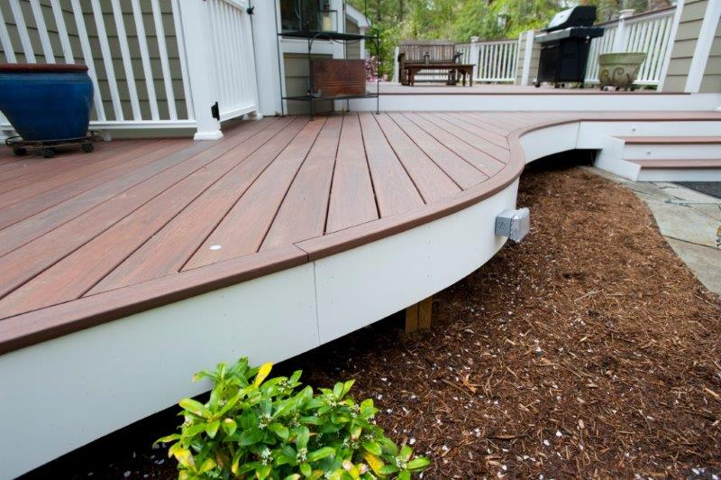 best materials to use for a modern deck in maryland or