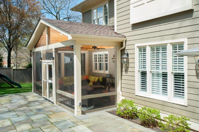 ... Pretty Screened Porch In Maryland ...