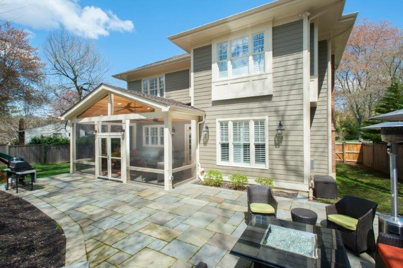 ... Outdoor Screened Porch In Maryland ...