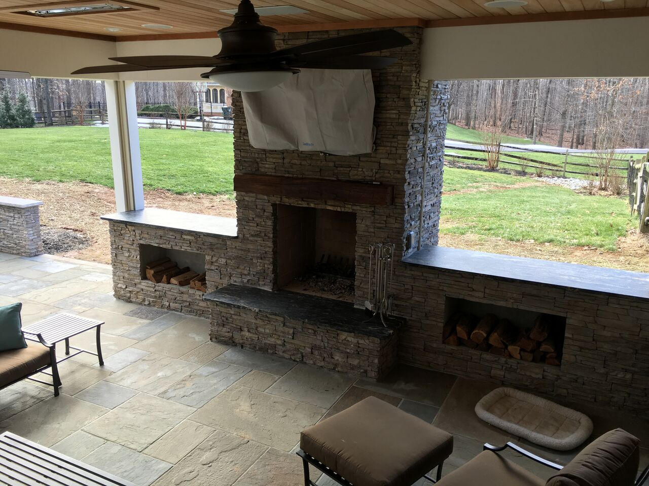 Top 3 considerations for building an outdoor wood burning for New construction wood burning fireplace