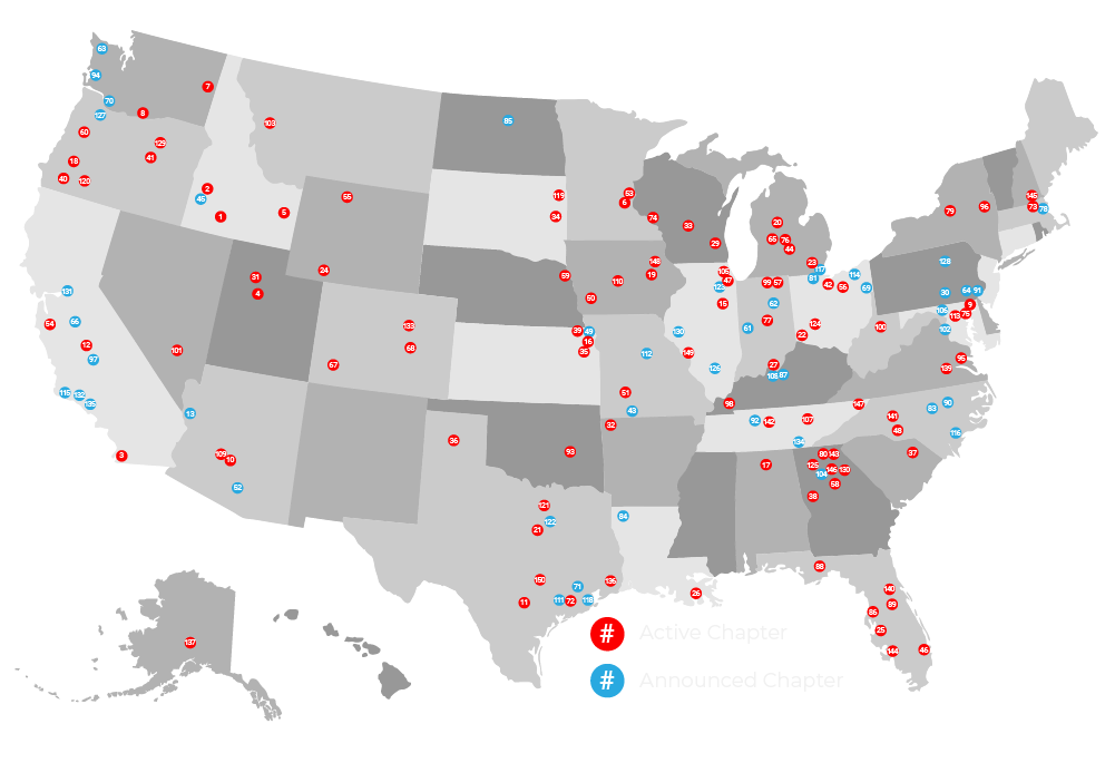 Sleep in Heavenly Peace Chapters Map