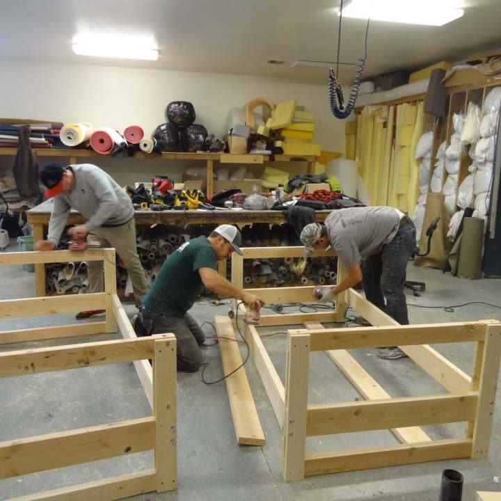 SHP Bed Building