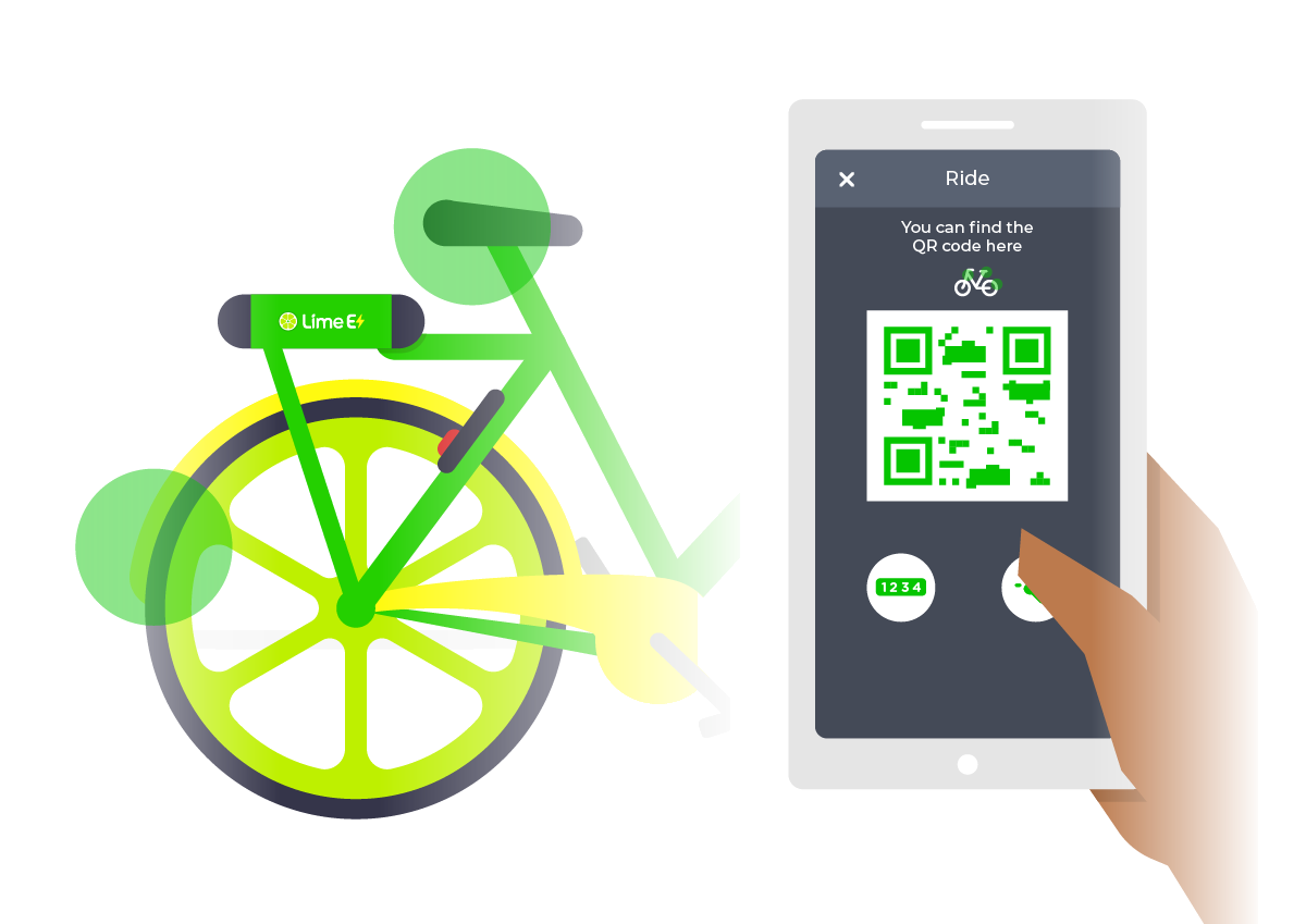 Lime Electric-Assist Bike Rentals