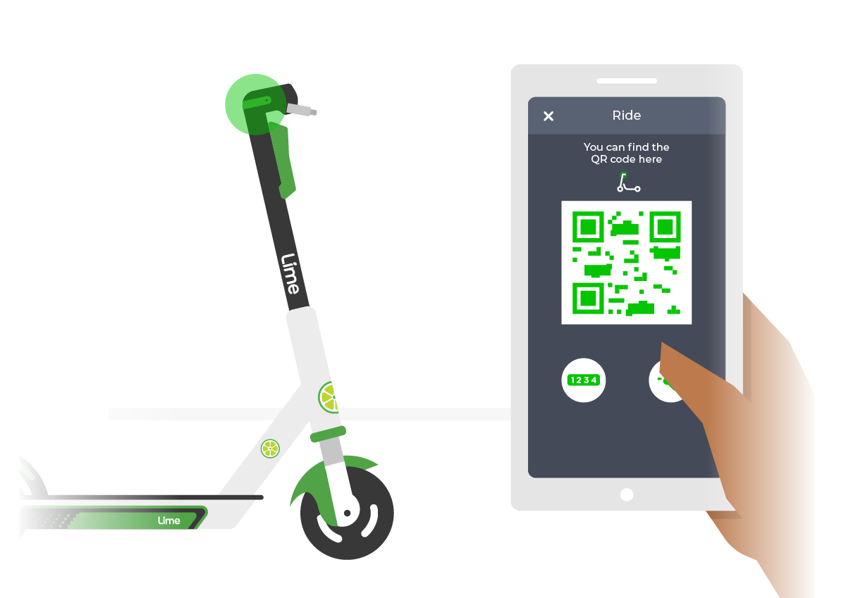 Lime Electric Scooter Rentals