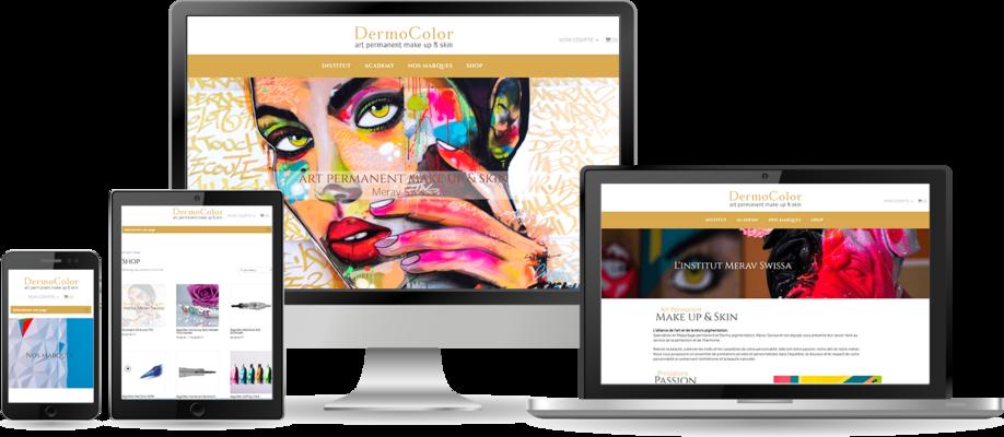 Refonte de site web pour responsive design