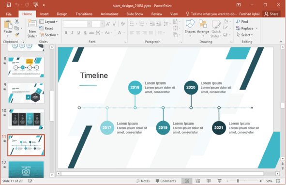 3 free ppt templates to make your training more memorable, Schedule Ppt Template, Powerpoint templates