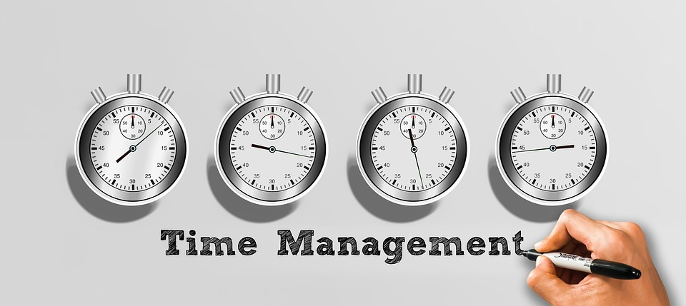 time management for training