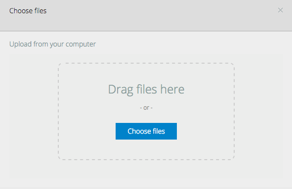 Want to upload a few documents as handouts? Now you can drag and drop multiple items into Mindflash.