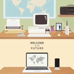 Two rooms illustration
