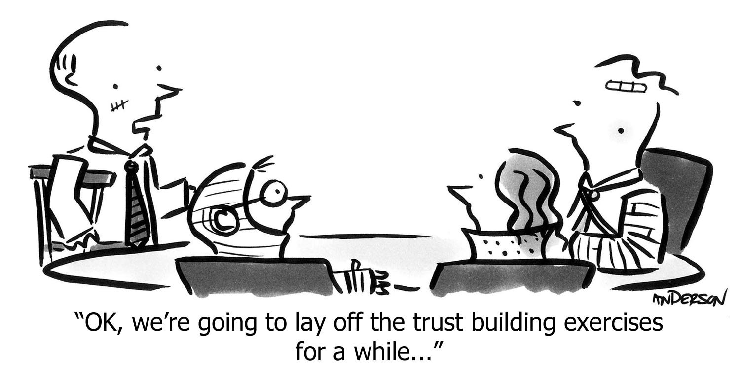 Trust Building Exercises