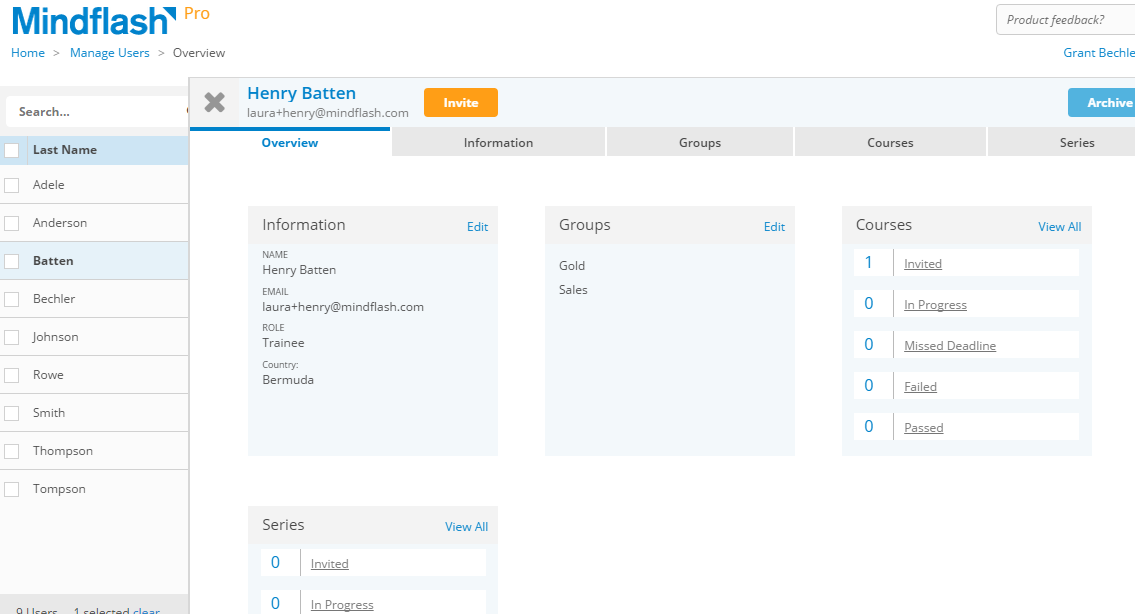 manage users screen 1