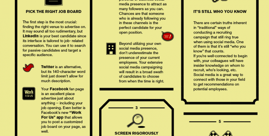 Infographic: How To Recruit Top Talent Through Social Media