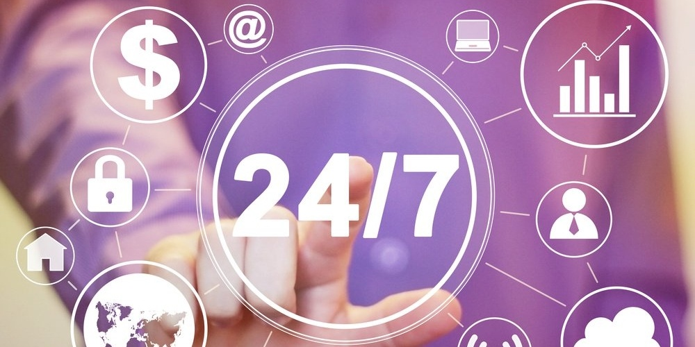 Real-time updates  24/7 with online training