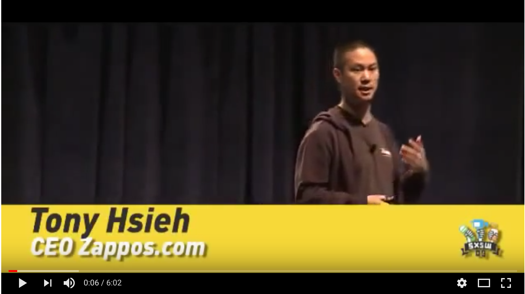 Tony Hsieh- The Zappos Brand & Customer Service: Motivational Speaker & Author