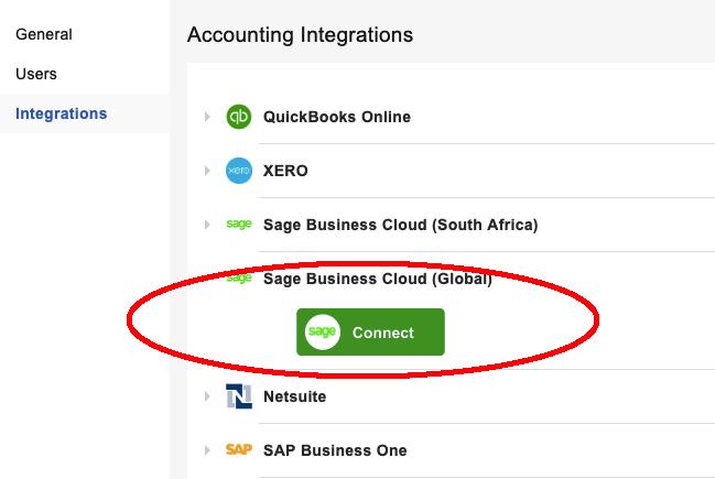 SageGlobalIntegration