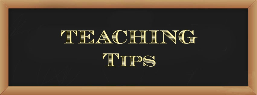 Teaching Tips for New Teachers