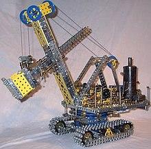 meccano crane leg vc interop microsoft