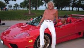 midlife crisis ferrari weird guy new car syndrome microsoft
