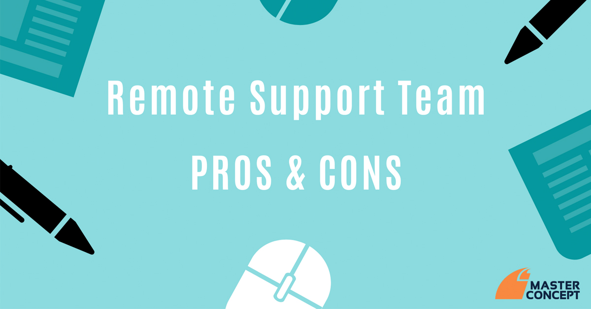remote office-pros cons