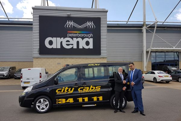 City Cabs sponsors East of England Arena and Events Centre