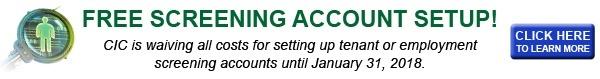 no cost screening account