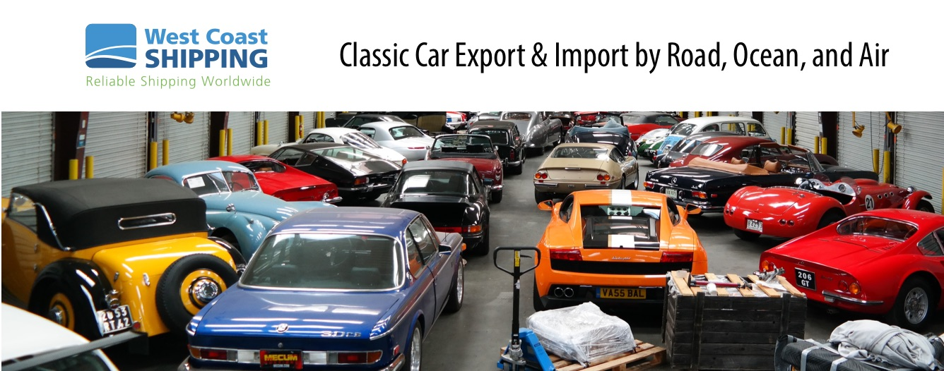 Classic and performance car shipping worldwide - Chequered Flag Int ...