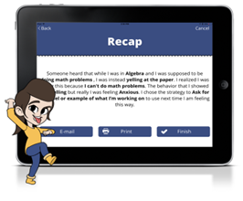 KidConnect helps students understand their feelings and pick strategies to manage their emotions