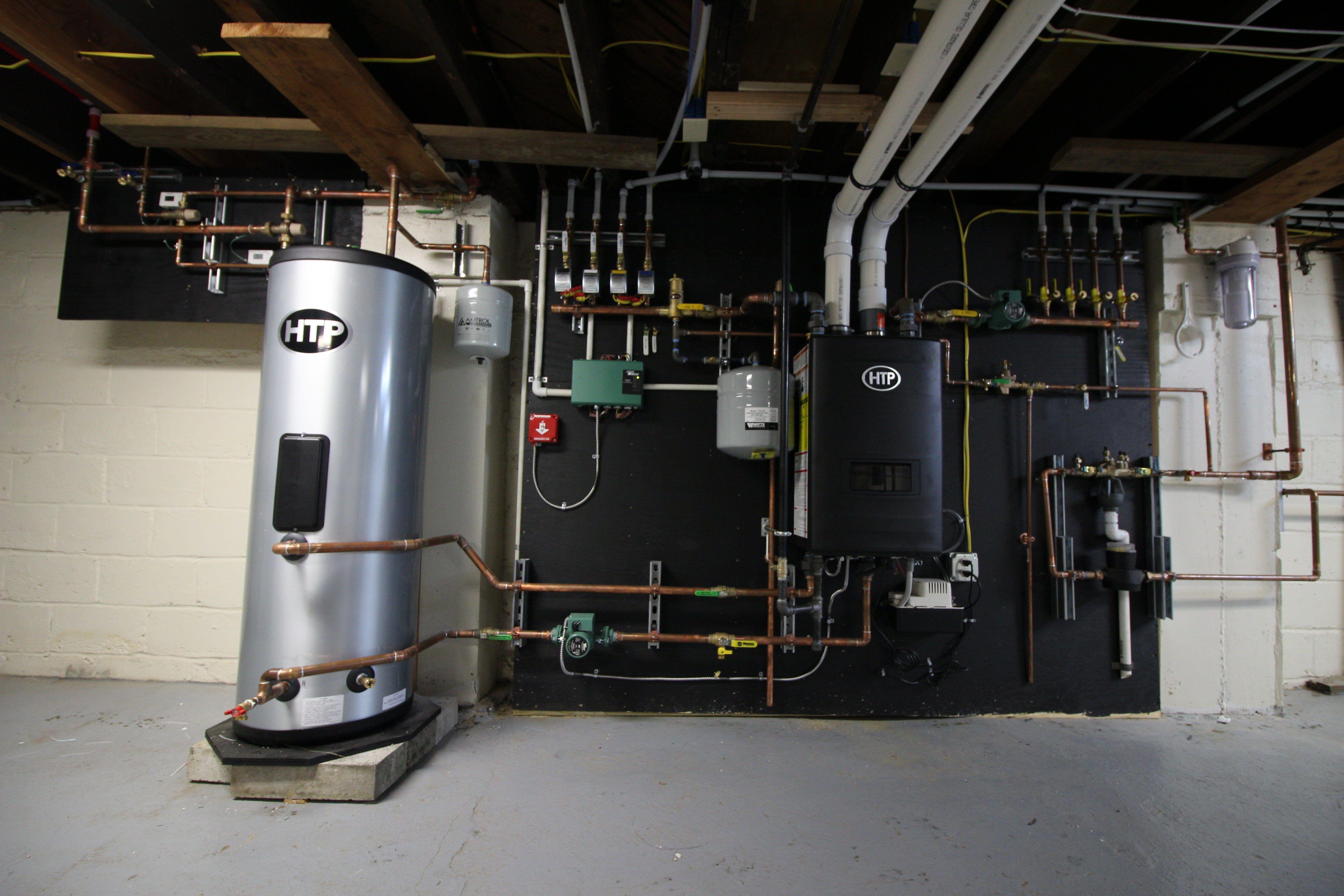 Install Ssp Indirect Amp Uft Boiler