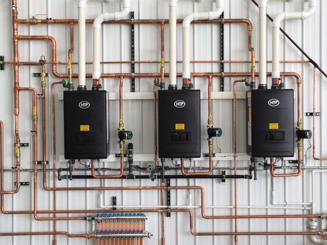 Htp S Cascaded Uft Boiler System