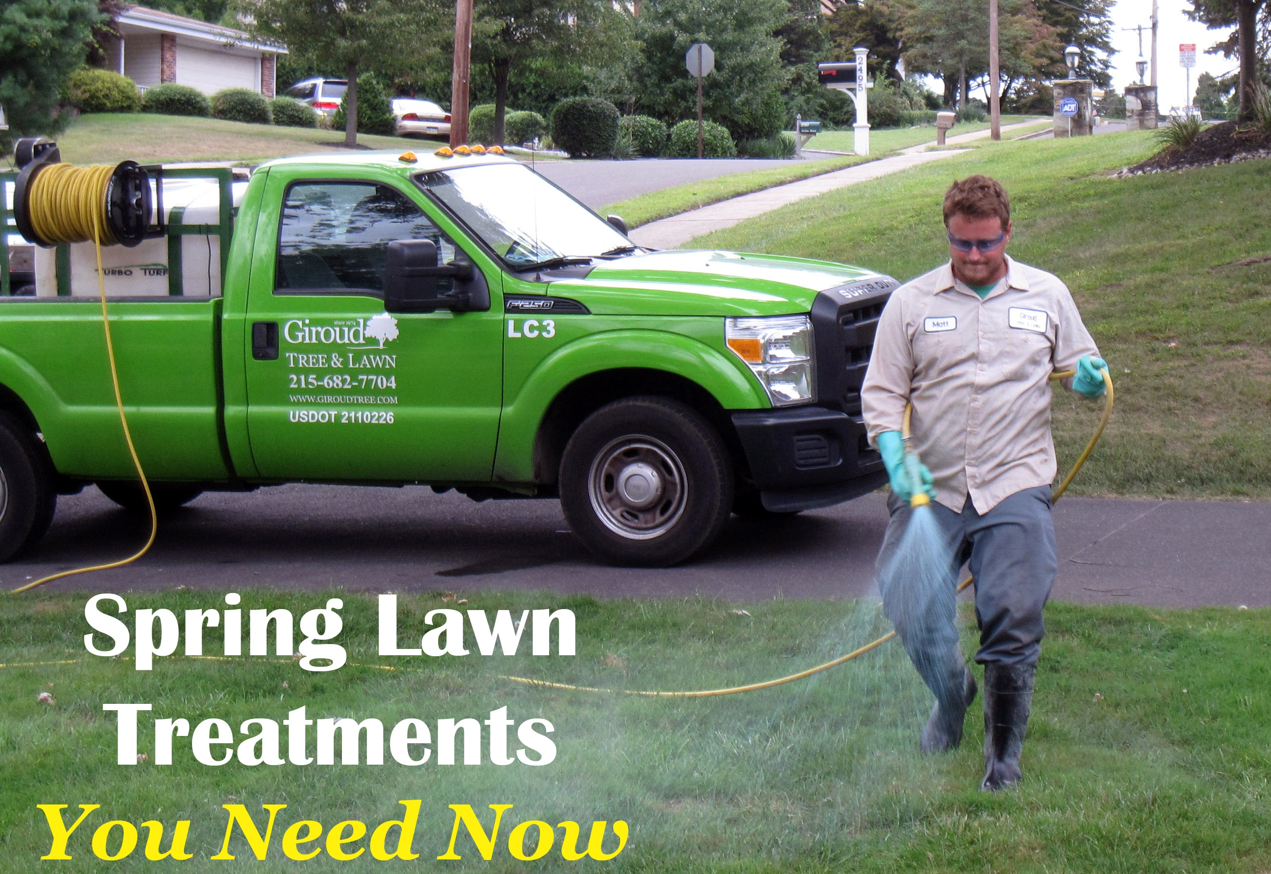 Spring Lawn Treatments You Need Now