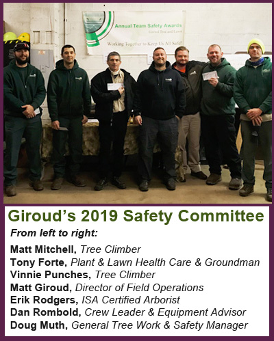 2019 Giroud Safety Committee