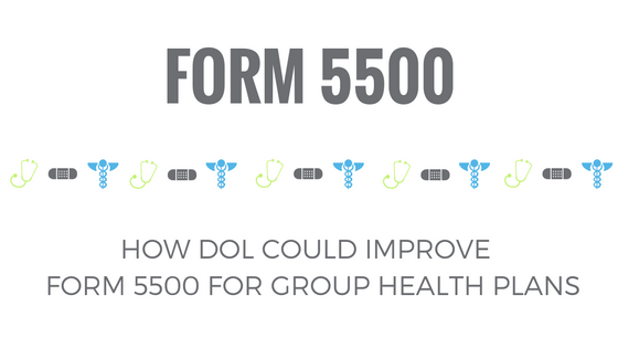 How DOL Could Improve Form 5500 for Group Health Plans