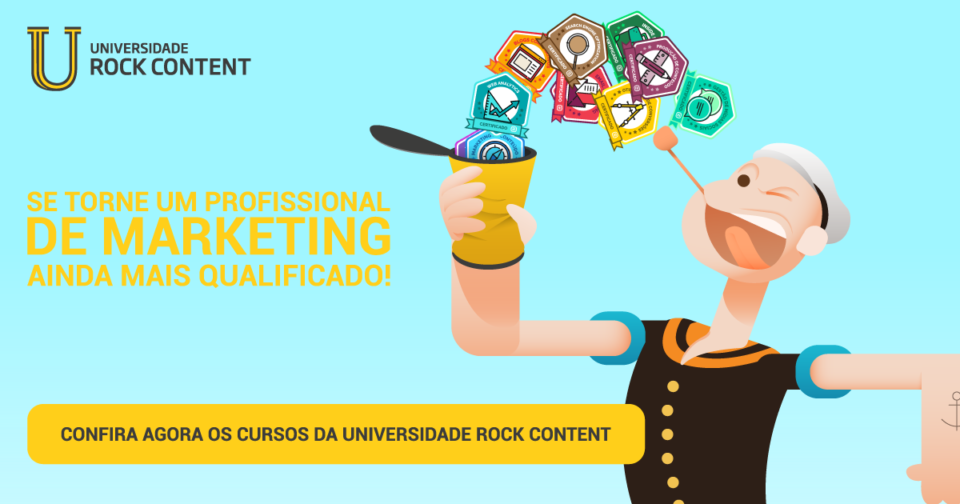 Universidade Rock Content - Confira os cursos de Marketing
