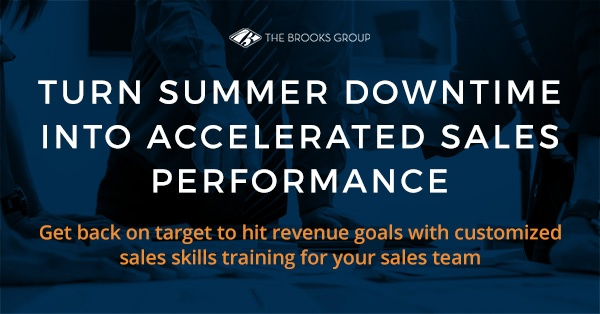 Turn Summer Downtime into Accelerated Sales Performance