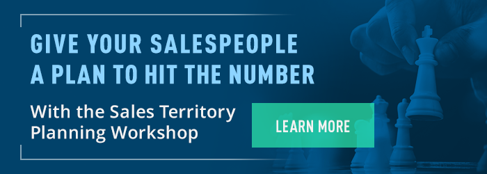 Give Your Salespeople a Plan to Hit the Number With the Sales Territory Planning Workshop