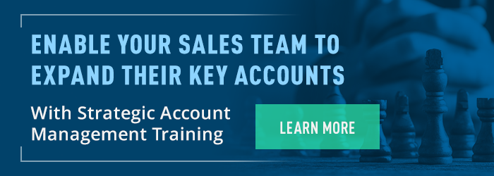 Enable Your Sales Team to Expand Their Key Accounts With Strategic Account Management Training