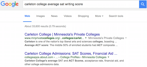 Is there an essay on the sat