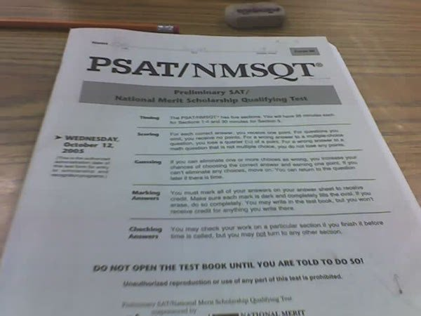 How do you get a GREAT score on the PSAT?