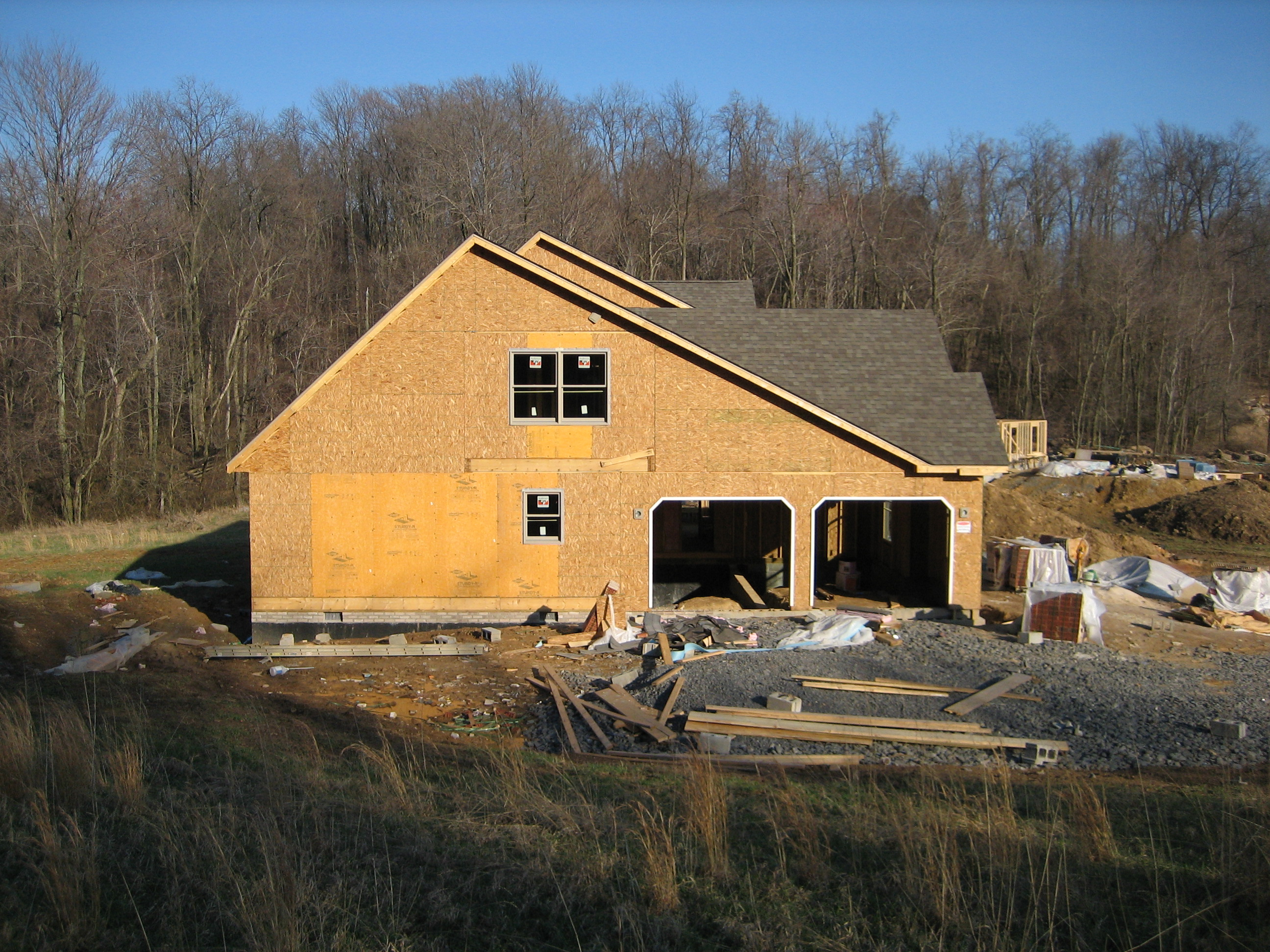 Home Building Process Beginning Construction To End Result